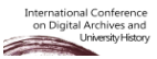 International Conference on Digital Archives and University History